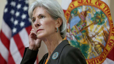U.S. Health Secretary Kathleen Sebelius resigns