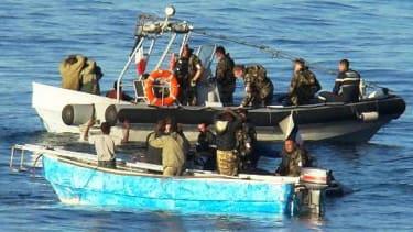 Somali pirates just hijacked a ship.