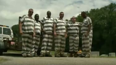 The inmates who saved a guard's life.