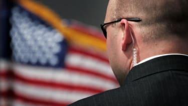 A Secret Service agent.