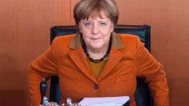 German Chancellor Angela Merkel will meet President Trump for the first time on Friday