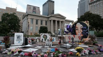 Breonna Taylor memorial in Louisville.