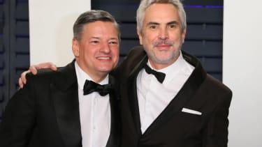 Ted Sarandos and Alfonso Cuarón