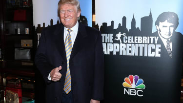 """Donald Trump, still executive producer on """"Celebrity Apprentice"""""""