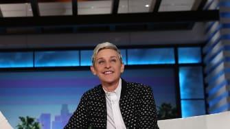 Ellen DeGeneres on her talk show.