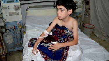 Gas attack, Syria