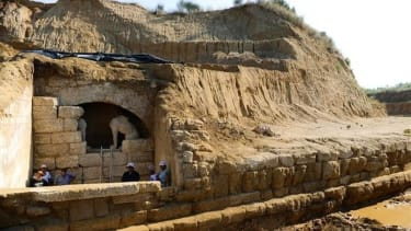 Archaeologists discover 'secret vault' in Alexander the Great-era tomb