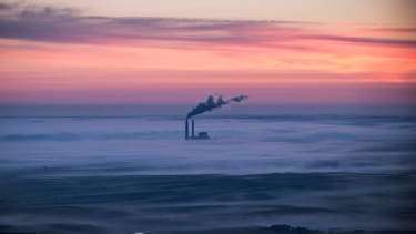 Coal-burning energy plant in North Dakota.
