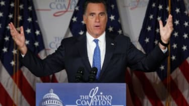 Mitt Romney's vagueness on immigration, among other issues, may keep the spotlight off his own proposals, and keep the public's focus on President Obama's decisions.