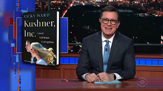 Stephen Colbert on Ivanka Trump and Air Force planes