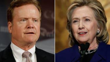 Jim and Hillary