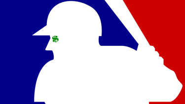 The MLB logo.