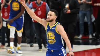Warriors sweep Blazers, head to NBA Finals