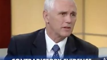Mike Pence spoke about the Trump campaign having evidence that shows sexual assault accusations are false.