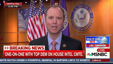 Rep. Adam Schiff says there's more than circumstantial evidence of Trump team collusion with Russia