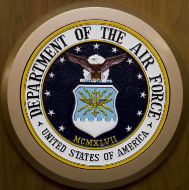 United States Air Force seal.