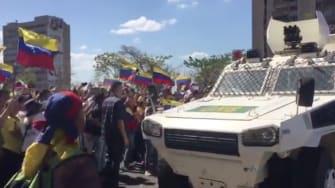 Venezuela Protests.