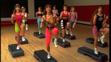 Aerobics class.