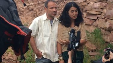 Sitora Yusufiy and Marcio Dias.