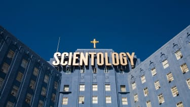 Church of Scientology building in Hollywood.
