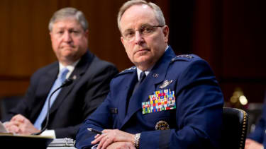 The Senate Armed Services Committee hears from top officials on the controversy over sexual assaults within the U.S. military, May 7.