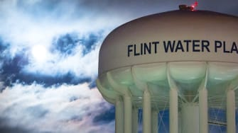 Flint rail reportedly did not warn inmates about water.