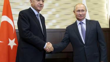 Putin and Erdogan.