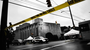 The Tree of Life synagogue.