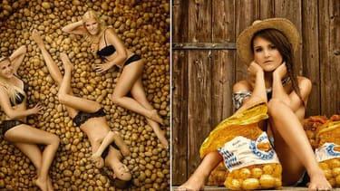 German potato growers release sexy pin-up calendar
