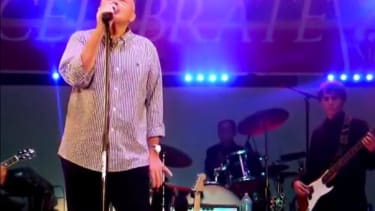 Phil Collins came out of retirement to sing some old hits with a middle school band