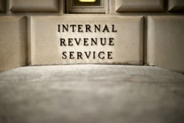 Internal Revenue Service building.