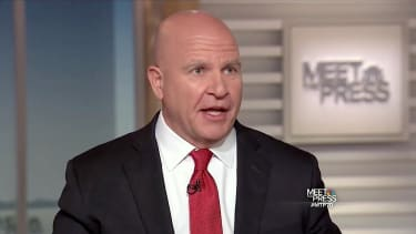 H.R. McMaster will not say he can work with Stephen Bannon