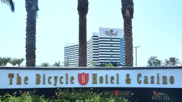 The Bicycle Hotel and Casino in Bell Gardens, California.