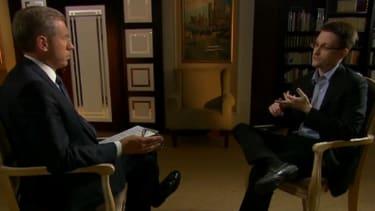 Edward Snowden: I was 'trained as a spy'
