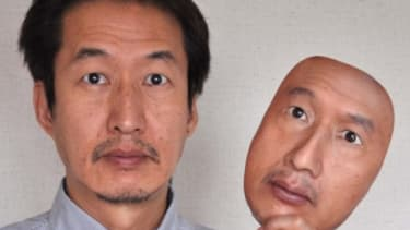 A eerily realistic mask of your own face