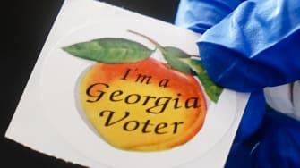 Georgia voting.