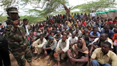 Members of al Shabab