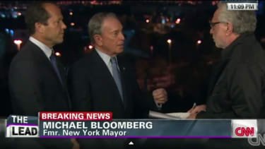 Mike Bloomberg unloads on Wolf Blitzer over FAA flight ban: 'Don't be ridiculous'