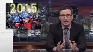 John Oliver wants to save your New Year's Eve by killing it