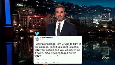 Jimmy Kimmel on Justin Bieber versus Tom Cruise