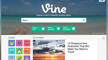 Vine finally has a website with search and discovery features