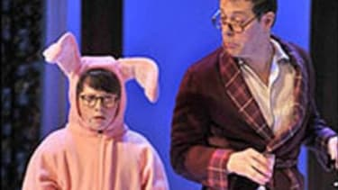 """What would """"A Christmas Story: The Musical"""" be without Ralphie's bunny suit present?"""