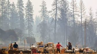 Northern California wildfire.
