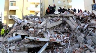 Albania Earthquake.