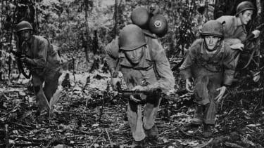 American troops during World War II.