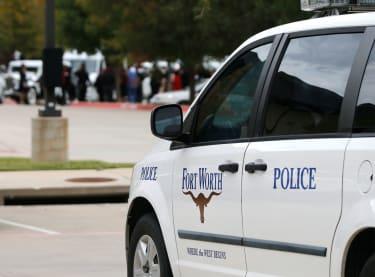 Forth Worth police car.