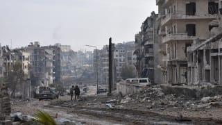 A view of Aleppo.