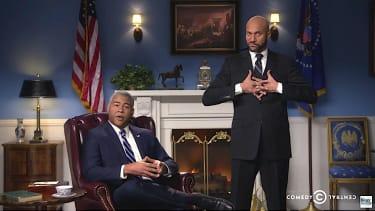 Luther the anger translator (Keegan-Michael Key) previews Obama's farewell address