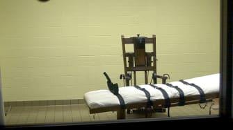 Death chamber in Lucasville, Ohio, circa 2001