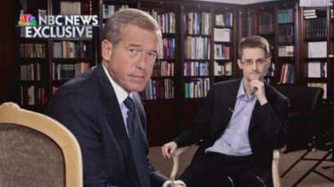 NBC News' Brian Williams nets Edward Snowden for first American TV interview
